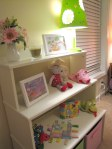 Nursery Decorated Bookshelf
